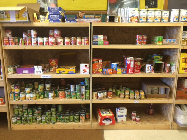 Food Pantry at Traverse City High School
