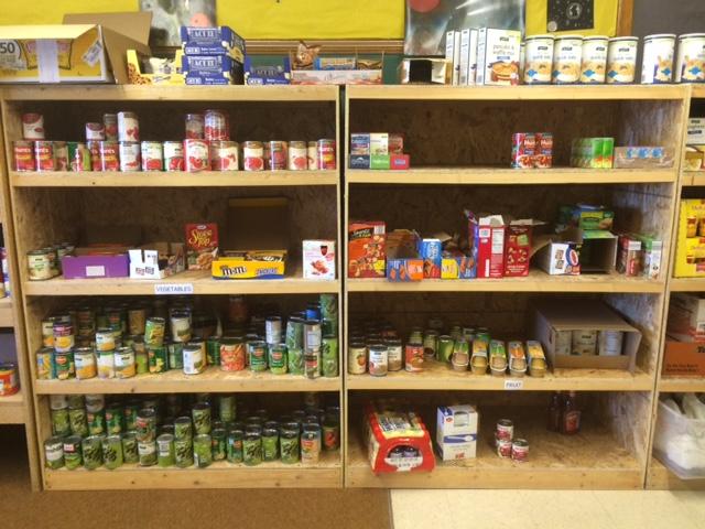 Food Pantry at Traverse City High School